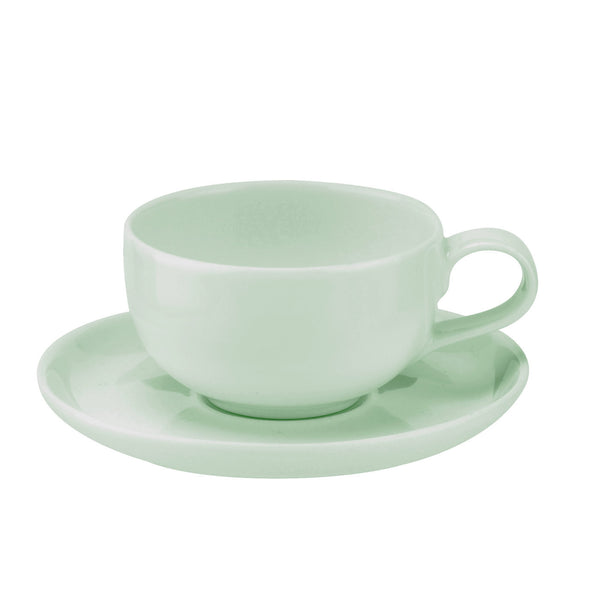 Portmeirion Choices Green Espresso Cup and Saucer (Pair) 0.10L