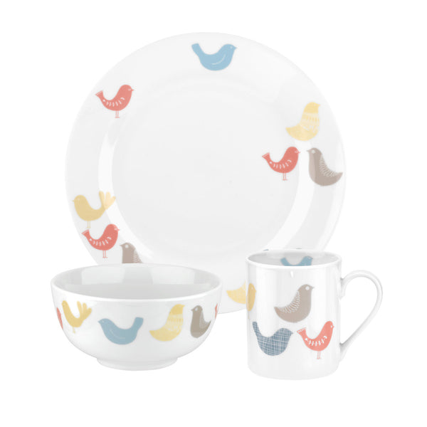 Portmeirion Scandi Birds 6 Piece Boxed Set