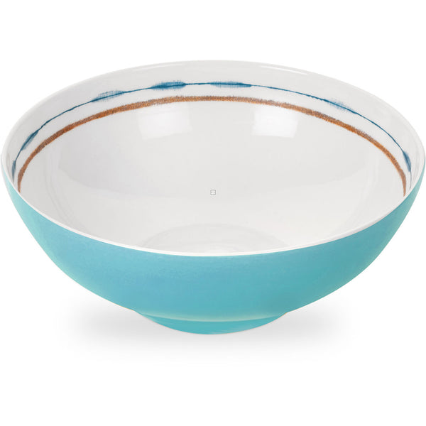 Portmeirion Coast Large Blue Salad Bowl 24cm