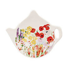 Churchill China Collier Campbell Painted Garden Teabag Tidy