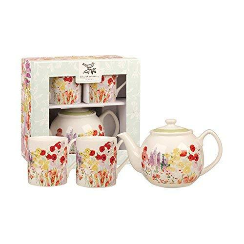 Churchill China Collier Campbell Painted Garden Tea for Two (Gift Box)
