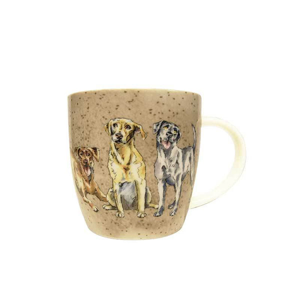 Churchill China Couture Companions Squash Labs Mug 0.40L