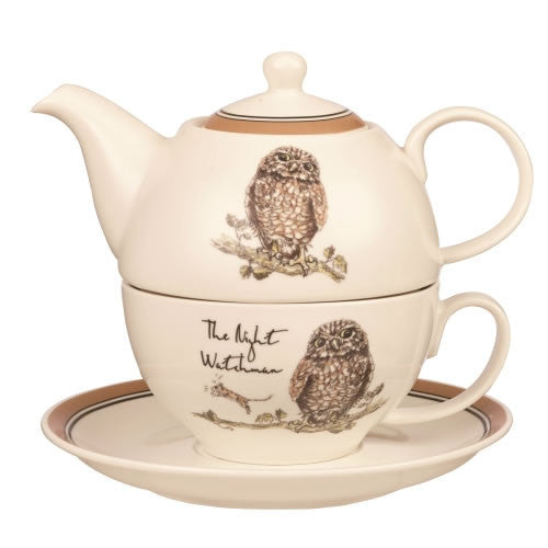 Churchill China Country Pursuits Teapot for One