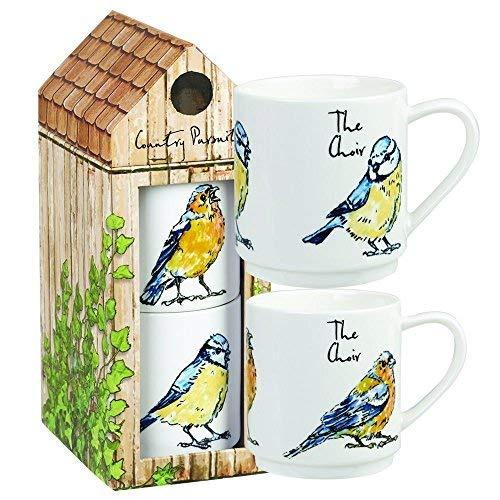 Churchill China Country Pursuits The Choir Stacking Mug 20cm (Gift Box)