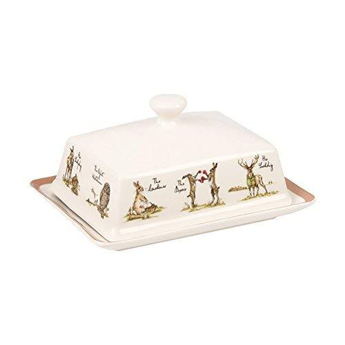 Churchill China Country Pursuits Sleeve Butter Dish