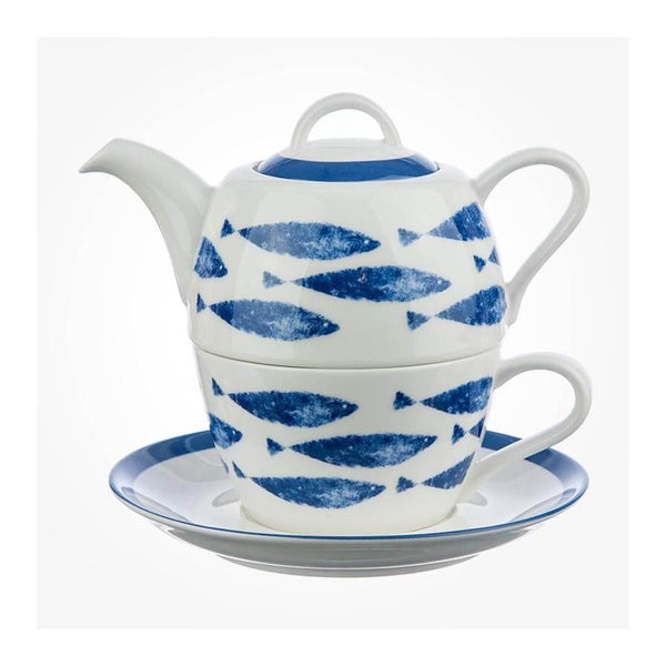 Churchill China Couture Admiral Sieni Fishie Teapot for One 0.40L