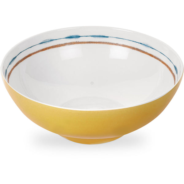 Portmeirion Coast Large Yellow Salad Bowl 24cm