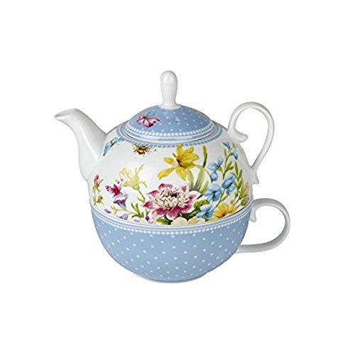 Katie Alice English Garden Teapot for One