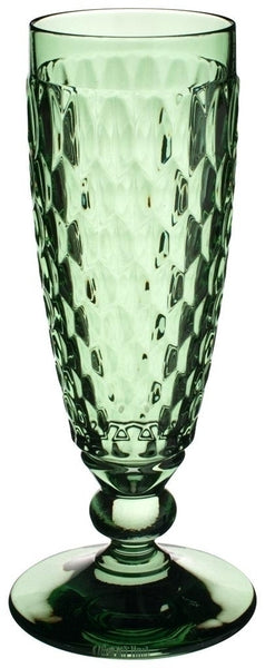 Villeroy and Boch Boston Green Champagne Flute 16.3cm