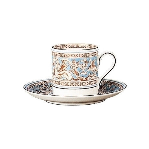 Wedgwood Florentine Turquoise Coffee Cup Saucer (Saucer Only)