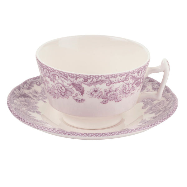 Spode Delamere Bouquet Teacup and Saucer 0.2L