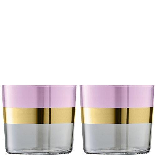 LSA Bangle Rose Tumbler 0.31L (Set of 2)
