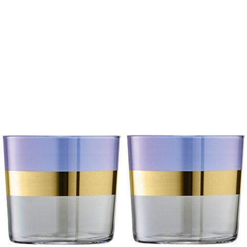 LSA Bangle Blueberry Tumbler 0.31L (Set of 2)