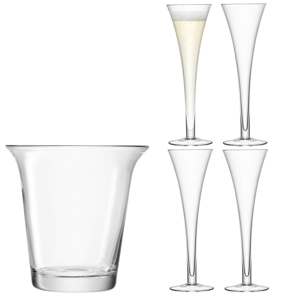 LSA Bar Clear Champagne Set