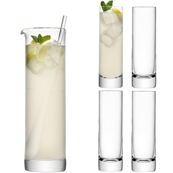 LSA Bar Clear Long Drink Set