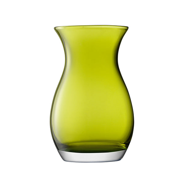 LSA Flower Colour Olive Posy Vase 20cm