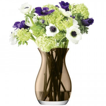 LSA Flower Colour Mocha Posy Vase 20cm