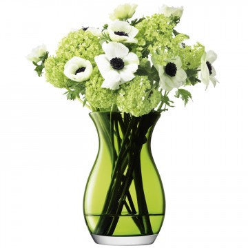 LSA Flower Colour Lime Posy Vase 20cm