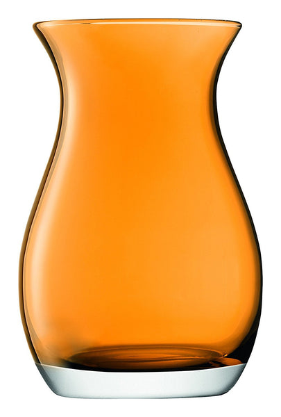 LSA Flower Colour Amber Posy Vase 20cm