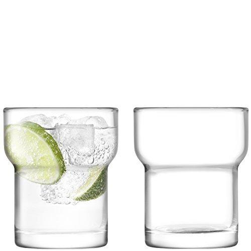 LSA Utility Clear Tumbler 0.30L (Set of 2)