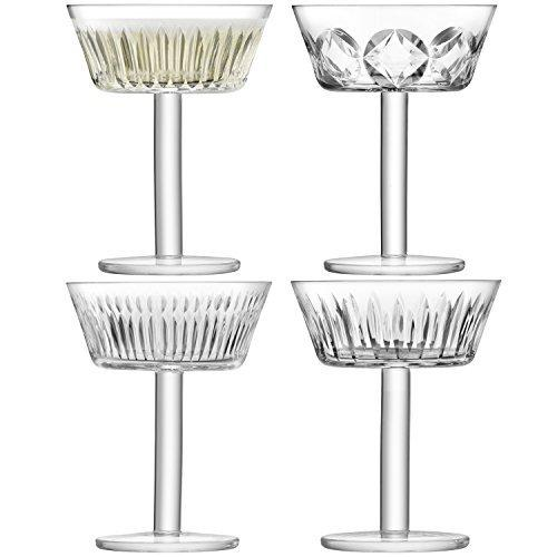LSA Tatra Champagne/Cocktail Glass 0.25L (Set of 4)