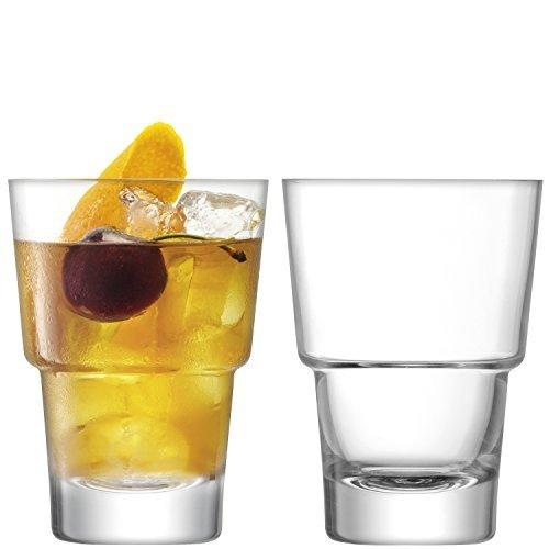 LSA Mixologist Cocktail Clear Tumbler 0.32L (Set of 2)