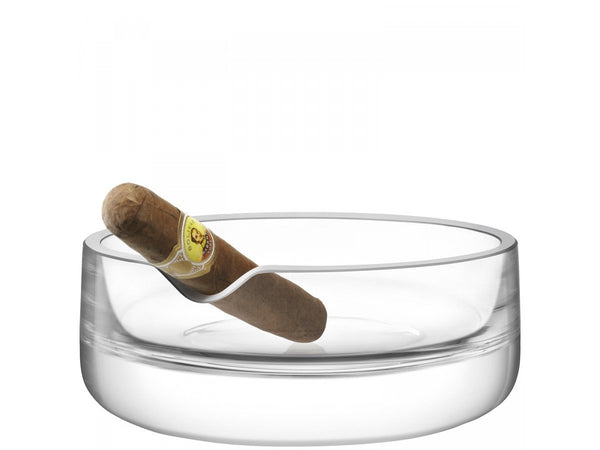 LSA Bar Clear Culture Cigar Ashtray 17cm