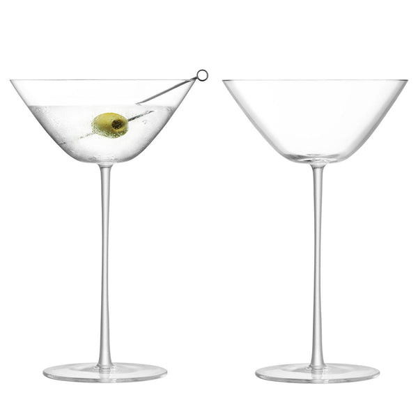 LSA Bar Clear Culture Cocktail Glass 280ml (Set of 2)
