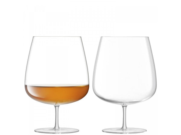 LSA Bar Clear Culture Cognac Balloon Glass 900ml (Set of 2)