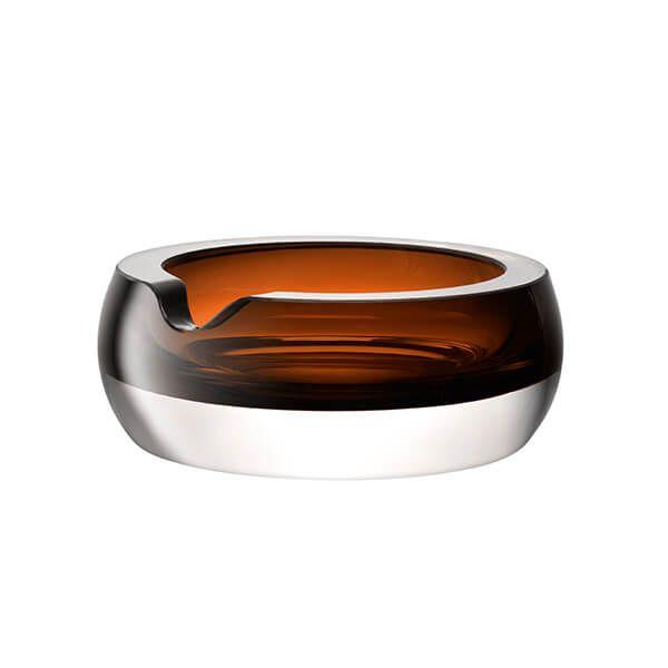 LSA Whisky Club Peat Brown Cigar Ashtray 17cm