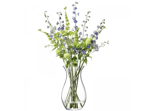 LSA Flower Clear all Posy Vase 50cm