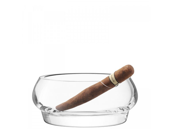 LSA Rum Clear Ashtray 17cm