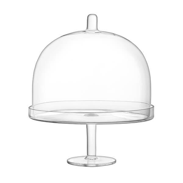 LSA Serve Clear Arch Cakestand and Dome 25cm/H29.5cm