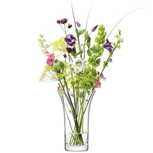 LSA Flower Bouquet Clear Vase 26cm
