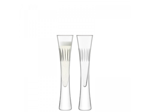 LSA Moya Clear Champagne Flute 170ml (Set of 2)