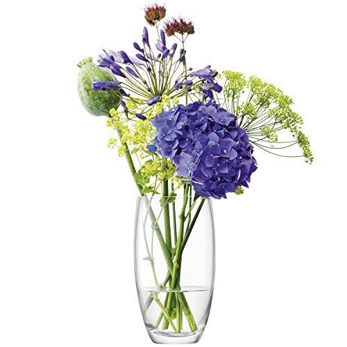 LSA Flower Bouquet Clear Vase 20cm