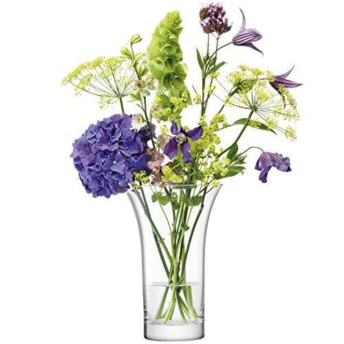 LSA Flower Bouquet Clear Vase 22cm