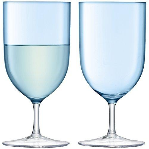 LSA Hint Pale Turquoise Wine/Water Glass 0.40L (Set of 2)