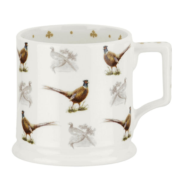 Spode Glen Lodge Pheasant Tankard 0.34L (Set of 4)