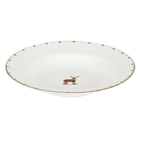 Spode Glen Lodge Stag Soup Plate 23cm