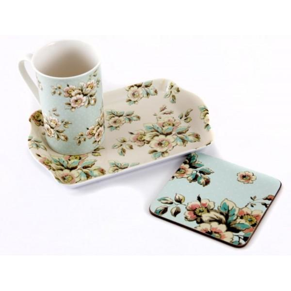 Katie Alice Cottage Flower Time for Tea Gift Set