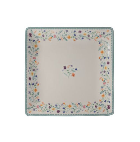 Maxwell and Williams Wildflowers Square Platter 34cm