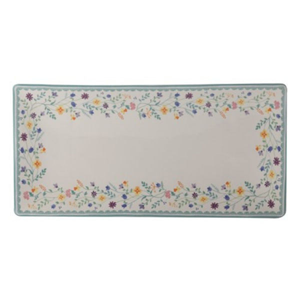 Maxwell and Williams Wildflowers Rectangular Platter 43cm by 20.5cm