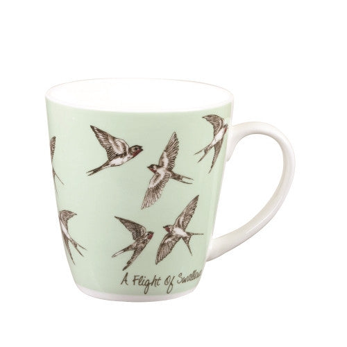 Churchill China The in Crowd Swallows Mug 0.36L