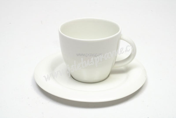 Maxwell and Williams White Basics Sphere Teacup and Saucer 200ml