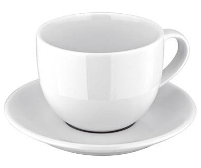Judge Ivory Porcelain Tea Cup and Saucer 0.25L