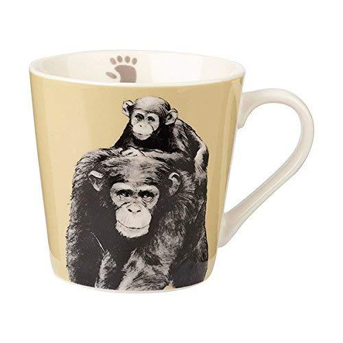 Churchill China Couture Kingdoom Chimpanzee Mug 0.32L