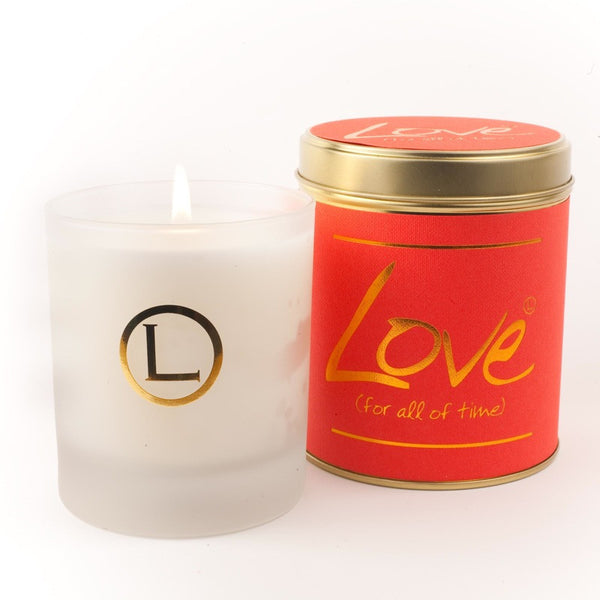 Lily Flame Love Glassware Candle