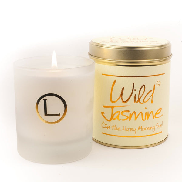 Lily Flame Wild Jasmine Glassware Candle