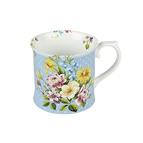 Katie Alice English Garden Porcelain Blue Tankard Mug